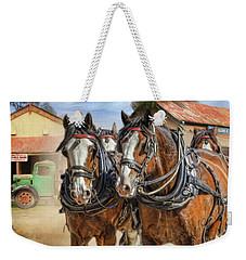 Town Day Weekender Tote Bag