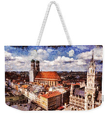 Town Hall. Munich Weekender Tote Bag