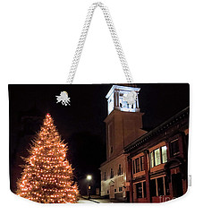 Town Square Plymouth Ma  Weekender Tote Bag
