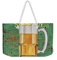 Township Saloon Weekender Tote Bag by Debbie DeWitt