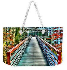 Towson University Walkway Weekender Tote Bag