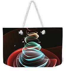 Weekender Tote Bag featuring the digital art Toy Pyramid by Anastasiya Malakhova