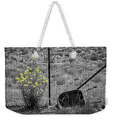 Toy Wheelbarrow And Wild Flowers Weekender Tote Bag