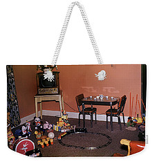 Toys Of Christmas Morning Weekender Tote Bag by Wernher Krutein
