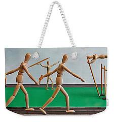Track And Field Weekender Tote Bag
