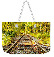 Track To Nowhere Weekender Tote Bag by Greg Fortier