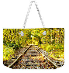 Track To Nowhere Weekender Tote Bag