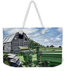 Tractor Barn Weekender Tote Bag
