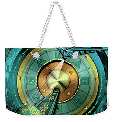 Weekender Tote Bag featuring the digital art Tractor Beam by Vincent Autenrieb
