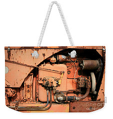 Tractor Engine V Weekender Tote Bag