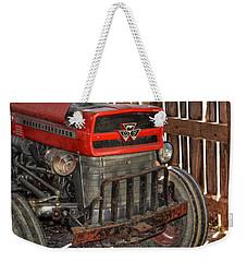 Tractor Grill  Weekender Tote Bag