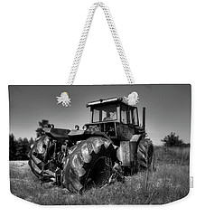 Tractor In The Countryside Weekender Tote Bag