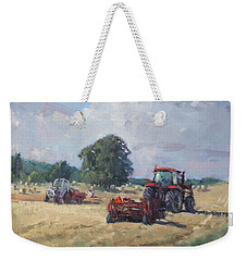 Tractors In The Farm Georgetown Weekender Tote Bag