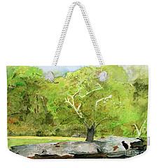 Tracy's Rock Weekender Tote Bag by Sandy McIntire