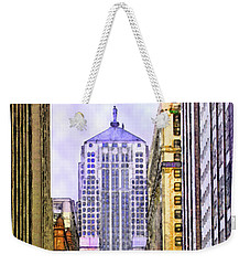 Trading Places Weekender Tote Bag