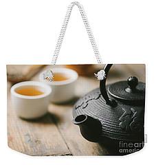 Traditional Asian Tea Weekender Tote Bag
