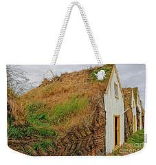 Traditional Turf Houses In Iceland Weekender Tote Bag