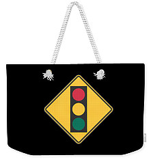 Traffic Light T-shirt Weekender Tote Bag