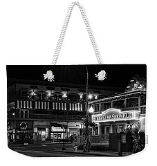 Traffic Light No 8 Gatlinburg In Black And White Weekender Tote Bag