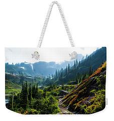 Trail In Mountains Weekender Tote Bag