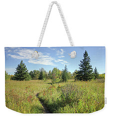 Trail In September Meadow Weekender Tote Bag