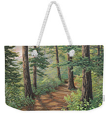 Trail Of Green Weekender Tote Bag