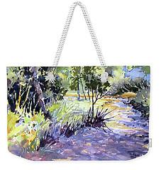 Trail Shadows Weekender Tote Bag