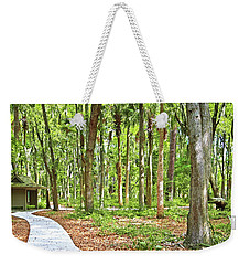 Trail Through National Forest Weekender Tote Bag