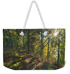 Trail Weekender Tote Bag by Tim Fitzharris