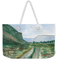 Trail To Canada Weekender Tote Bag