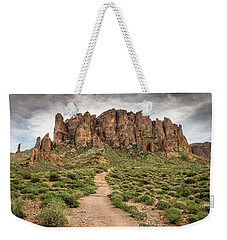 Trail To Cliffs Weekender Tote Bag
