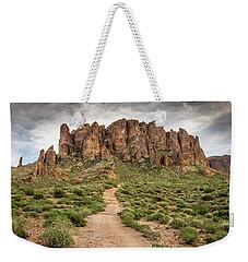 Trail To Cliffs Weekender Tote Bag
