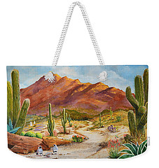 Trail To The San Tans Weekender Tote Bag