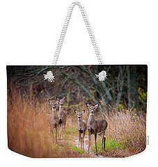 Trail Watchers Weekender Tote Bag