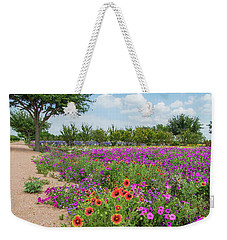 Trailing Beauty Weekender Tote Bag