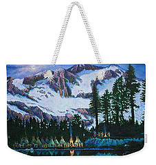 Trails West II Weekender Tote Bag