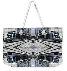 Weekender Tote Bag featuring the photograph Train by Brian Jones