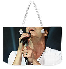Train's Pat Monahan Weekender Tote Bag by Cindy Manero