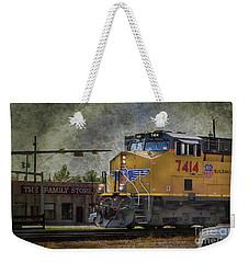 Train Coming Through Weekender Tote Bag