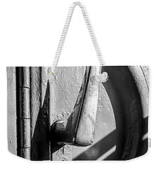 Train Door Handle Weekender Tote Bag