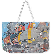 Train Engine Weekender Tote Bag