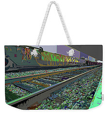 Train Infiniti Gone Tomorrow Weekender Tote Bag