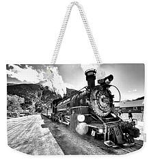 Train Nin Silverton Colorado Weekender Tote Bag