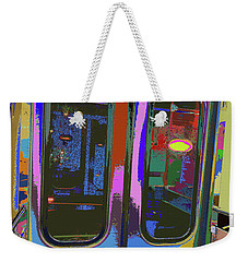 Train Ride 7 Weekender Tote Bag
