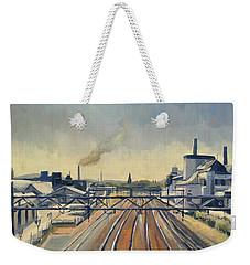 Train Tracks Maastricht Weekender Tote Bag