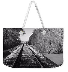 Train Trail Weekender Tote Bag