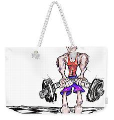 Training Solo Weekender Tote Bag