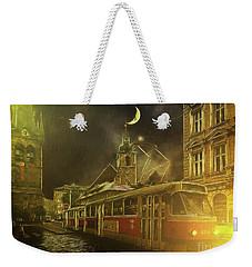 Tramatic - Prague Street Scene Weekender Tote Bag