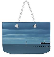 Tranquil Aberdeen Beach _ Pano Weekender Tote Bag