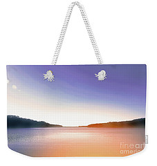 Tranquil Afternoon At The Lake Weekender Tote Bag
